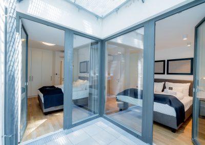 Maisonette Schlafzimmer